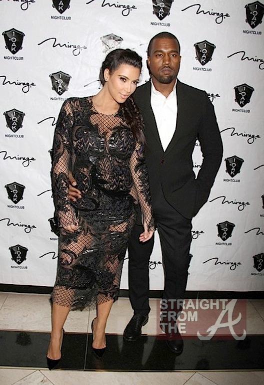 Kim Kardashian Kanye West New Years 2013-4