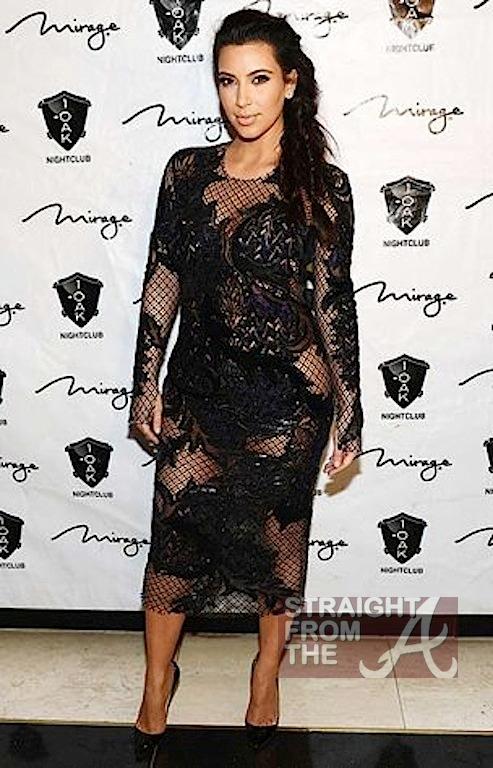 Kim Kardashian Kanye West New Years 2013-5