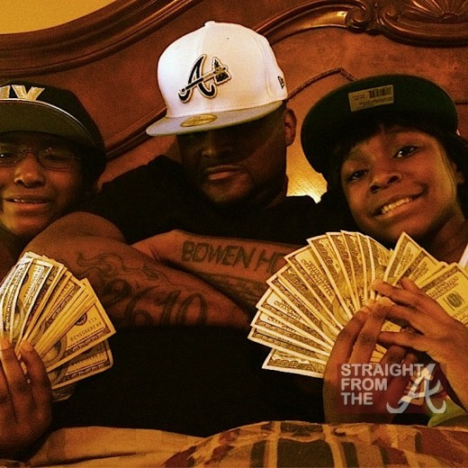 Shawty Lo and Kids