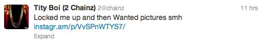 2Chainz Tweet 1