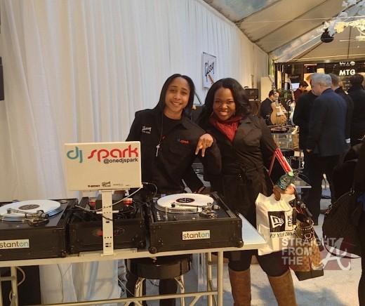 DJ Spark Michelle ATLien Brown
