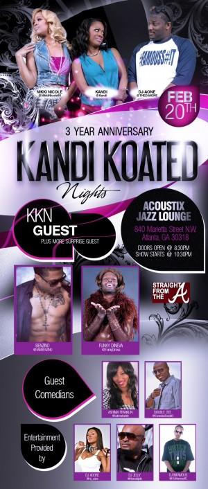 KKN 3rd Anniversary Flyer
