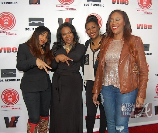 SWV and Michelle ATLien Brown - Vibe Impact StraightFromTheA