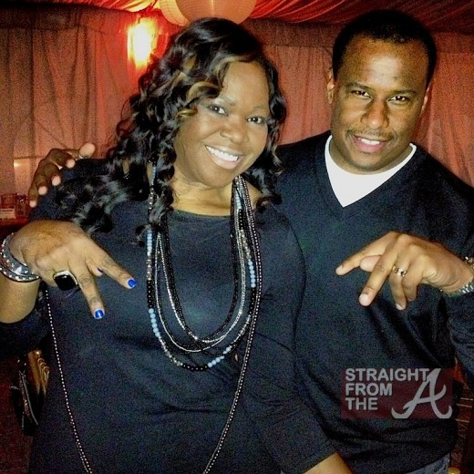 Michelle ATLien Brown and Marlon Nicols