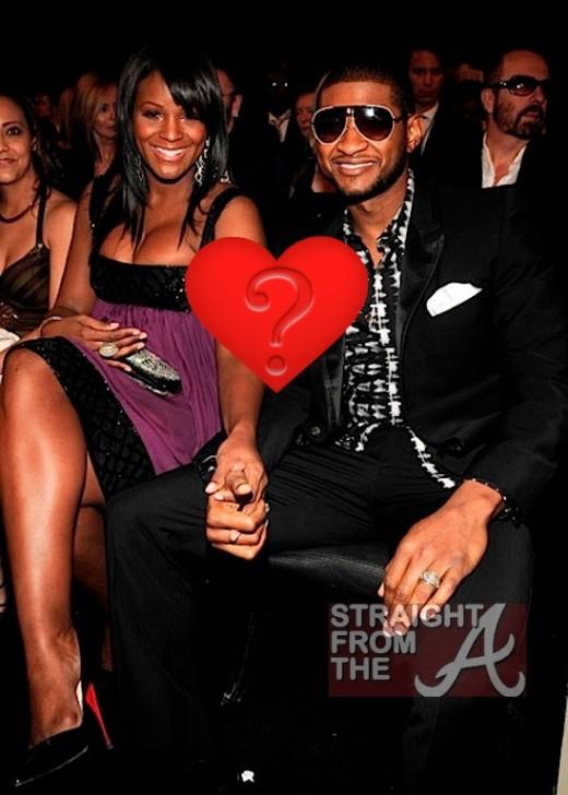 Usher and Tameka Raymond SFTA