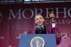 Barack Obama Morehouse Commencement 2013-8