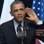 "Freedom of Speech Ain't Free: Obama Schools Heckler on ""Free Speech"" (VIDEO)"