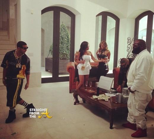 Drake Rick Ross No New Friends StraightFromTheA