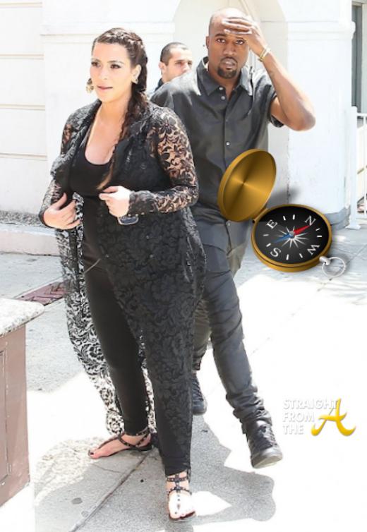 Kim Kardashian Kanye West SFTA 1