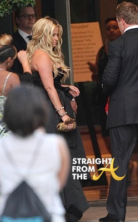 Kim Zolciak nene leakes wedding straightfromthea 2