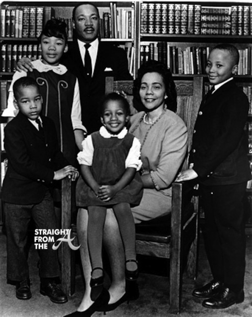 MLK jr Coretta children Dexter Yolanda Martin Luther King III Bernice