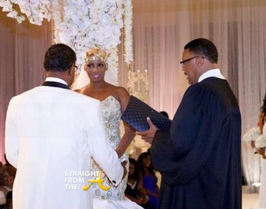 Nene Greg Leakes - Judge Mathis - Wedding