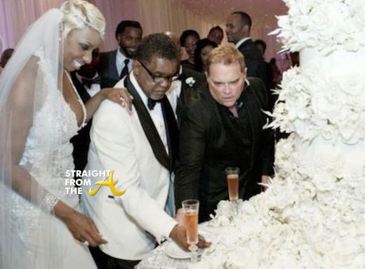 Nene Greg Leakes Wedding Reception SFTA -1