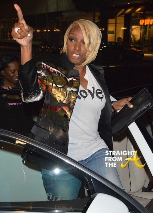 NeNe Leakes dines at Mr. Chow