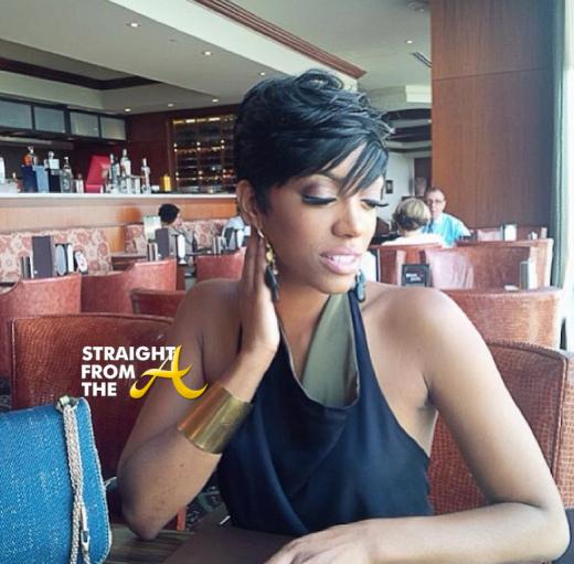 Porsha Stewart Short Hair SFTA 2