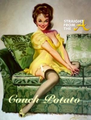 couch potato woman 2