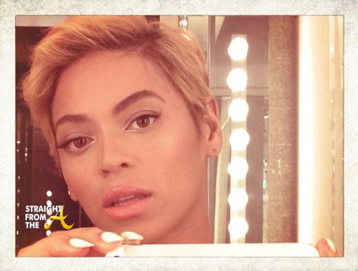 Beyonce Short Hair 2