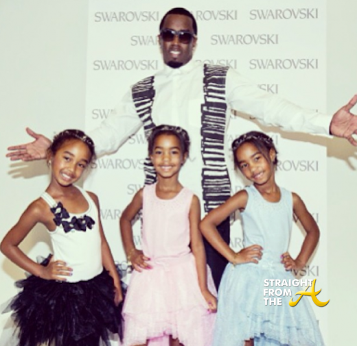 Diddy and Daughters 2013 4