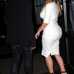 Boo'd Up: Kanye & Kim Make First 'Post-Engagement' Appearance… (Peep The Ring) [PHOTOS]