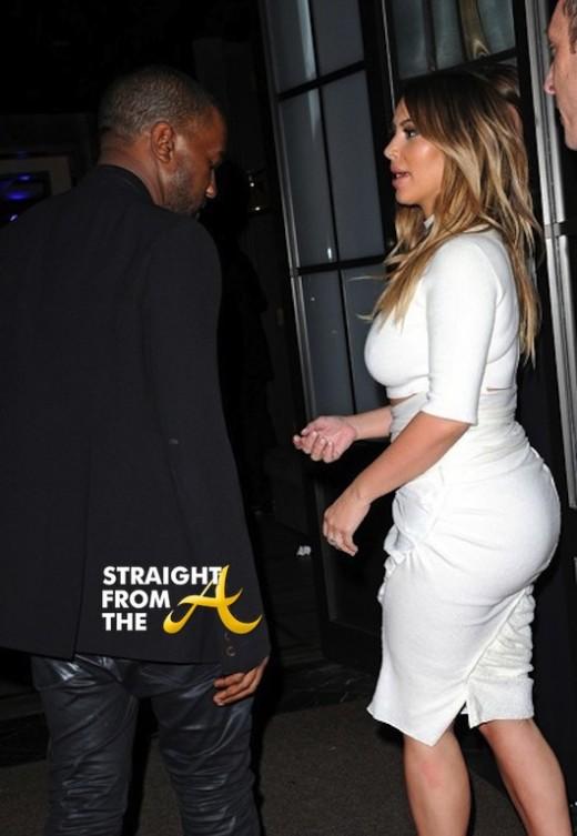 Kanye West Kim Kardashian Stars Dream Future Africa Foundation 2