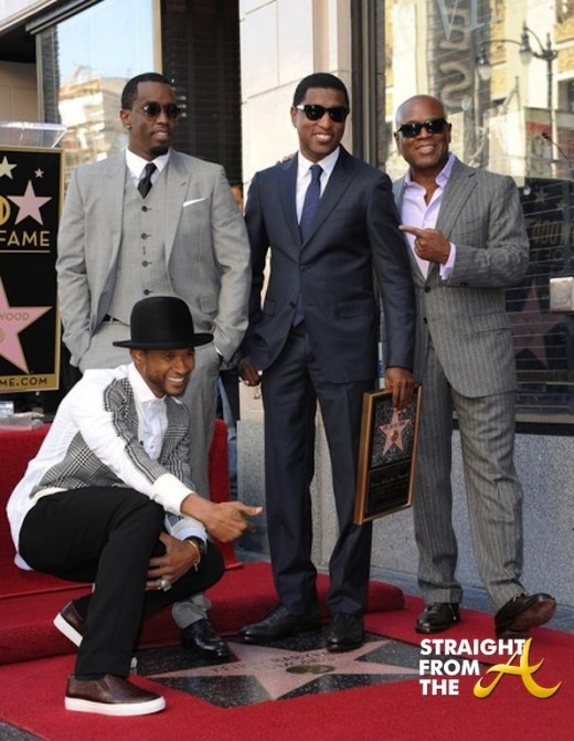 Kenny Babyface Edmonds Walk of Fame 2013 19
