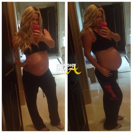 Kim Zolciak Pregnant 2013 StraightFromTheA