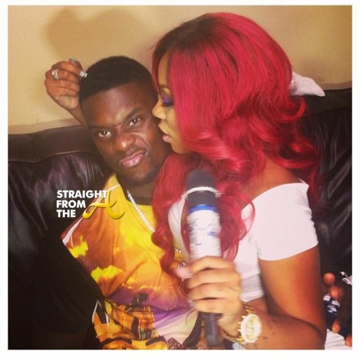 Lance Stephenson and Whasserface aka KMichelle