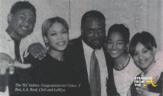 Usher TLC LA Reid