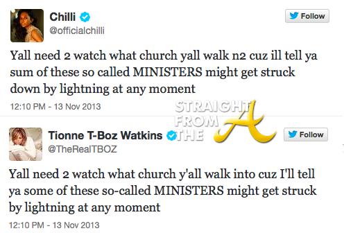 Chilli T-Boz Tweets