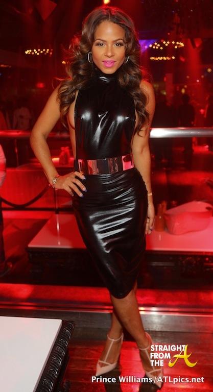 Christina Milian Sarah Vivan Party in ATL-9