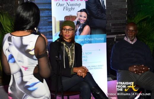 Cynthia Bailey Peter Thomas Book Launch Bar One StraightFromTheA-7