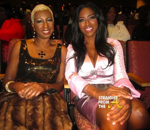 Kenya Moore and her Aunt Sisquo A Mother's Love