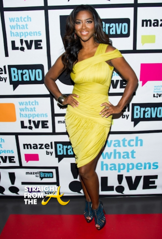 Kenya Moore on WWHL 2013