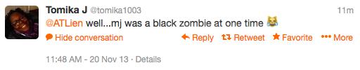 tomika1003 zombie tweet