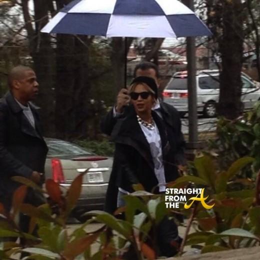 Beyonce Jay-Z Pappadeaux Atlanta 122813-2