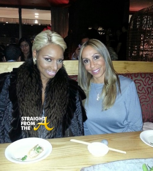 NeNe-Leakes-With-Mynique-Smith-in-New-York-City