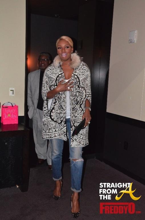 Nene Leakes Surprise Birthday Dinner STK StraightFromTheA 1