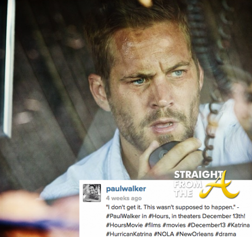 Paul Walker Instagram 2013