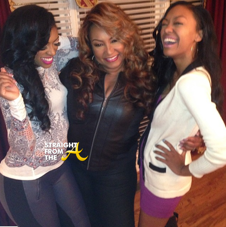 Porsha Stewart Williams Mom And Sister Straight From The