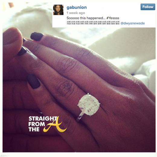 Gabrielle Union Dwayne Wade Engaged