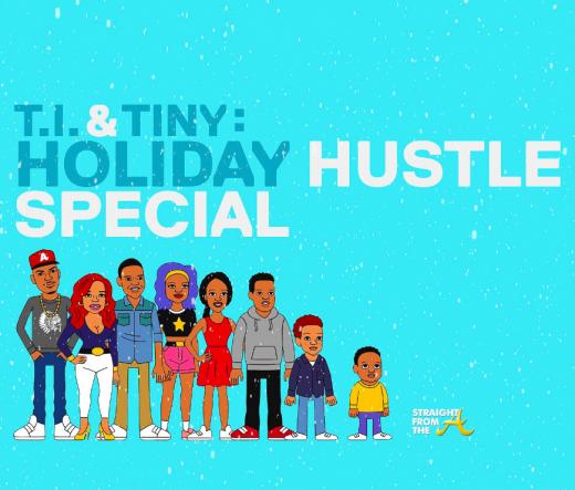 TI TIny Holiday Hustle Cartoon SFTA