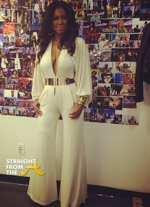 Kenya Moore Arsenio Hall 2014 6