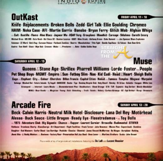 Outkast Coachella Schedule 2014