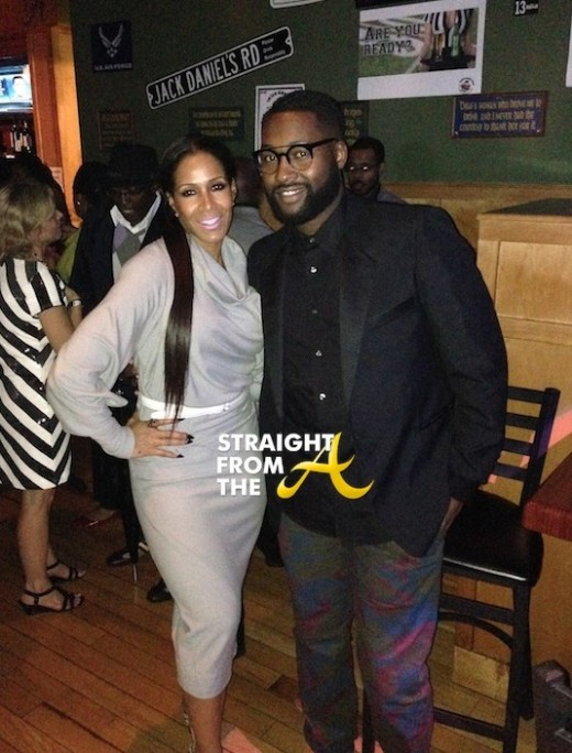 Sheree Whitfield Mychael Knight StraightFromTheA 2014 1