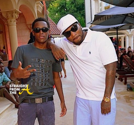 Young Jeezy and Son Jadarious