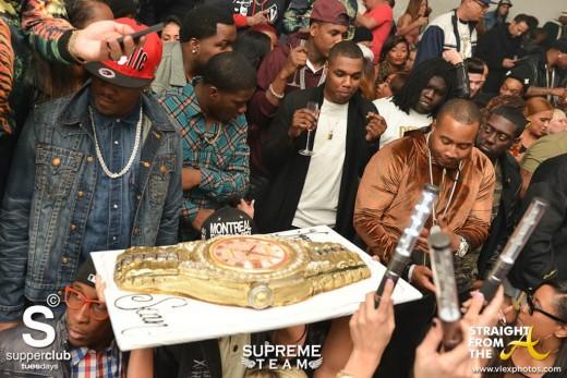 02-04 Supperclub - Sean Kingston Cake