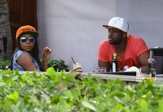 Dwayne Wade Gabrielle Union Miami 2014 3