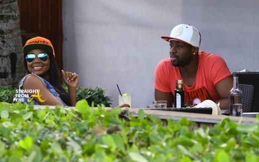 Dwayne Wade Gabrielle Union Miami 2014 8