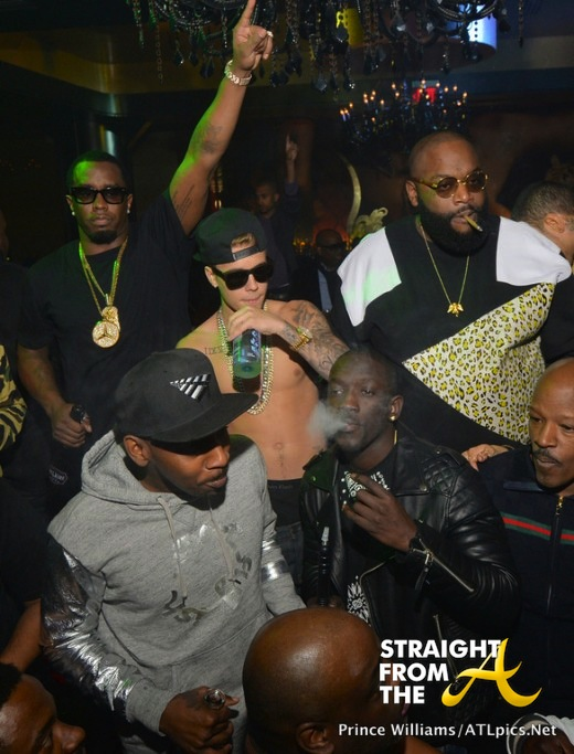 justin bieber diddy rick ross