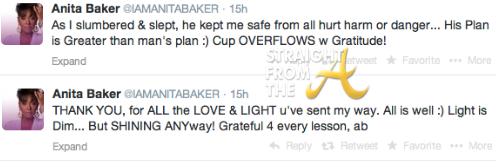 Anita Baker Tweet 2
